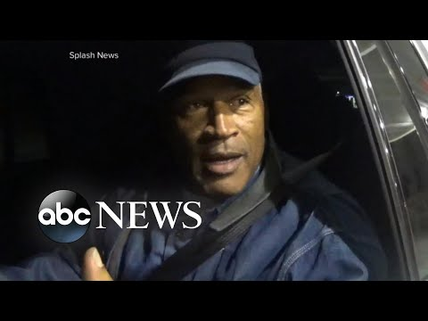 O.J. Simpson speaks for the first time since prison release
