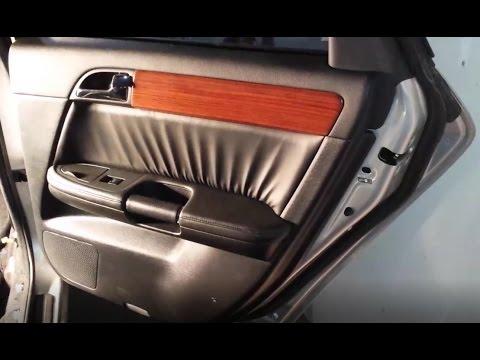 Remove REAR Door Panel - Infiniti M45 M35