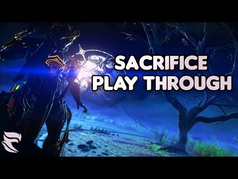 Warframe: The Sacrifice Live First Playthrough!
