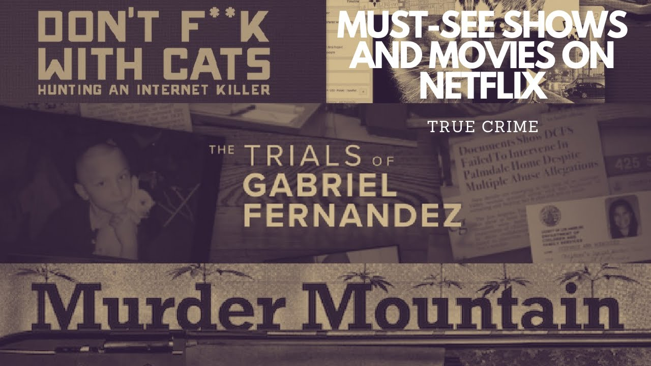 MY TOP 5 TRUE CRIME SHOWS & MOVIES ON NETFLIX (TAGALOG-ENGLISH) | T.I.'S CRIME LIST