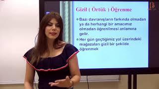12) Öğrenme Psikolojisi Genel Tekrar XII - Ayşegül ALDEMİR - 2020