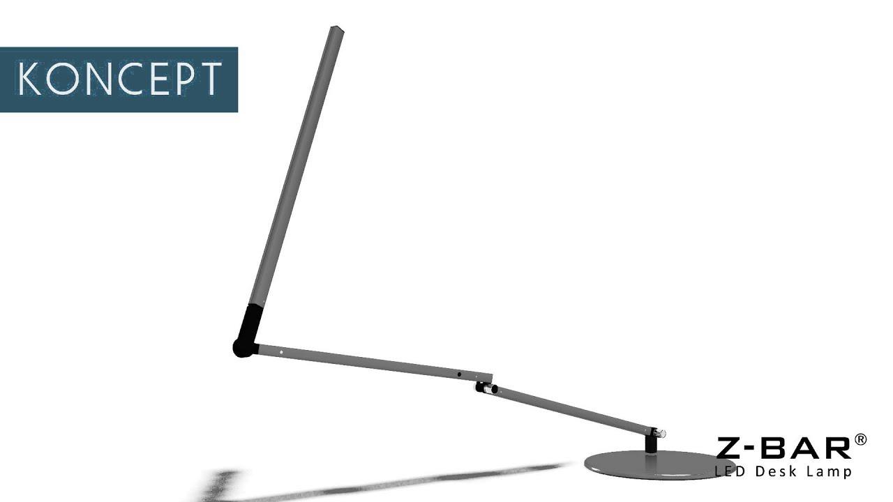 Adjustable Z Bar 3rd Generation From Koncept Lighting