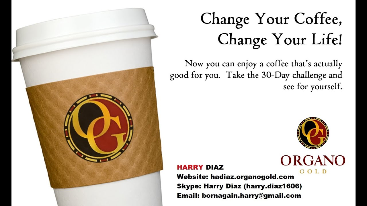 The Coffee that Pays - Organo Gold Business Presentation