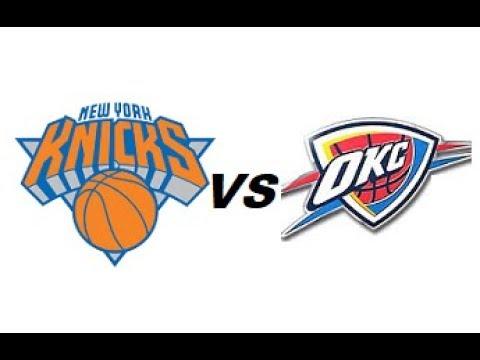 New York Knicks vs Oklahoma City Thunder NBA Full Highlights (NOVEMBER 15TH 2018-19)