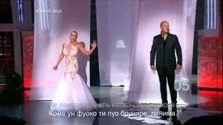Анастасия Волочкова  Две звезды 15.02.2013 Методие Бужор