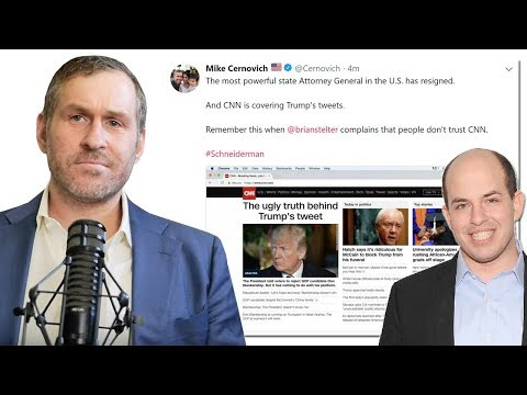 Why is CNN Covering Up the Schneiderman Story? | Mike Cernovich Periscope