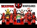 Awesome LEGO Deadpool™ Minifigure Marvel Super Heroes Collection