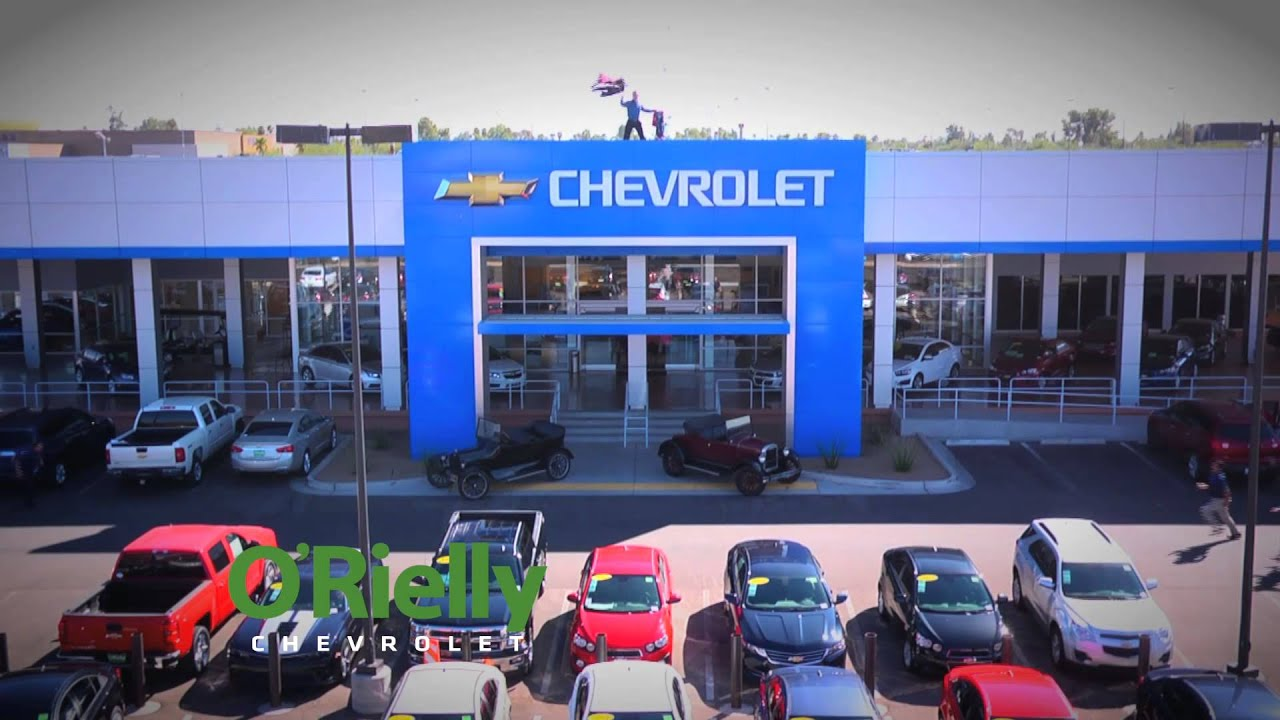 They're Here! (1) ORielly Chevrolet Tucson AZ Your New and Used Car