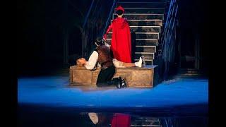 В склепе. Ледовый спектакль «Ромео и Джульетта».   Ялта 2019.