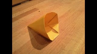 Origami  CONE - Origami Shapes || Origami For Kids