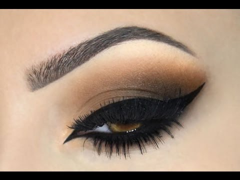 BROWN SMOKEY EYE Make Up Tutorial
