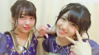 ゆいりー あやなん Shinozaki Ayana x Murayama Yuiri.