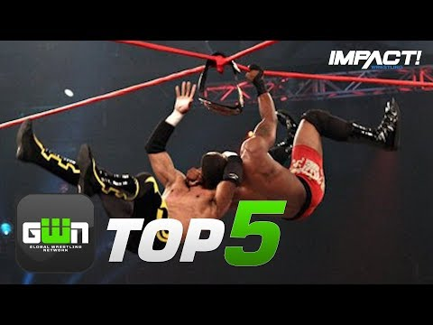 5 Most INSANE Ultimate X Moves in IMPACT Wrestling History | GWN Top 5