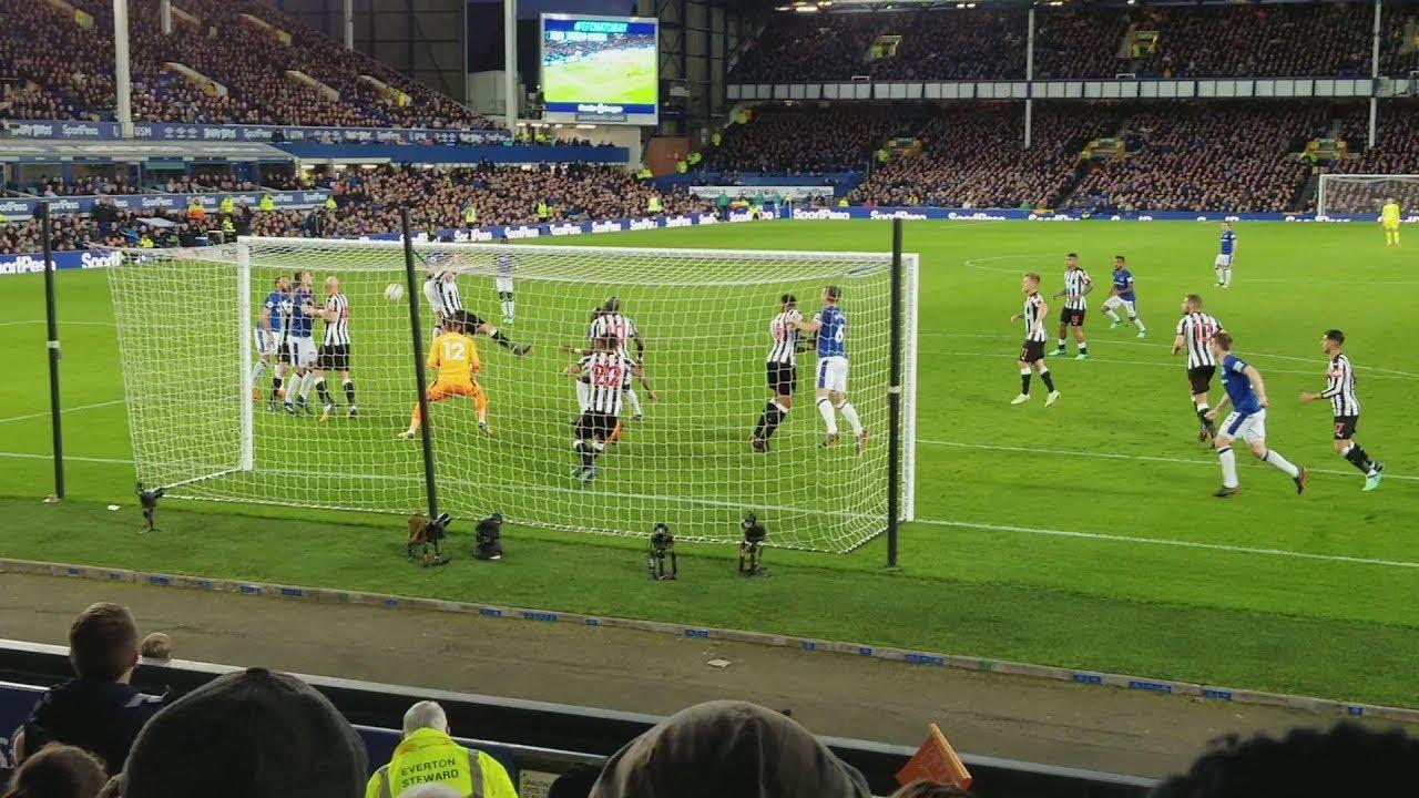 23rd April 2018 Everton vs Newcastle United (1-0) - YouTube