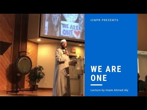 Imam/ Ahmed Aly at Unity Church after the massacre of New Zealand