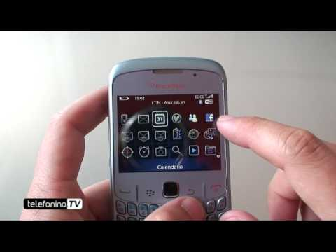 Blackberry 8520 curve videoreview da Telefonino.net
