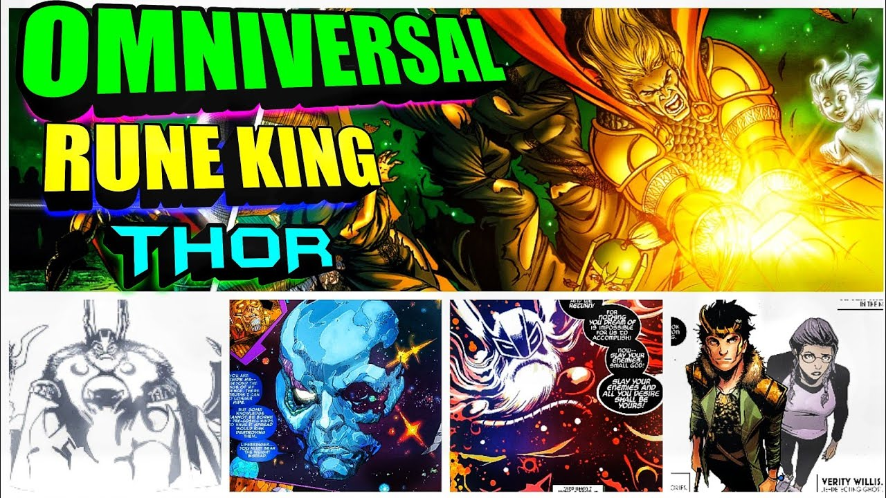How Powerful is Rune king Thor in Hindi (SUPERBATTLE)