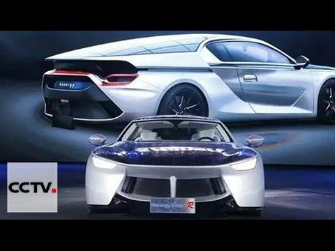 Китайский концерн Hanergy Holding Group представил автомобили на солнечных батареях