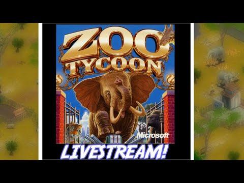 Zoo Tycoon: Retro PC Games Live Stream!