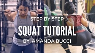 HOW TO SQUAT 🍑 Step By Step Cues