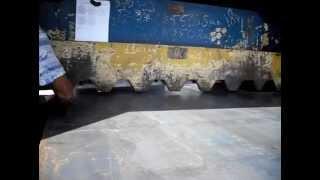 видео Рубка гильотиной