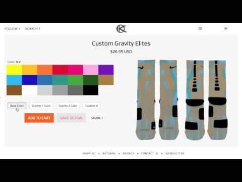 2a38aea07673 How to Customize Your Own Nike Elites - Ok Sock - YouTube
