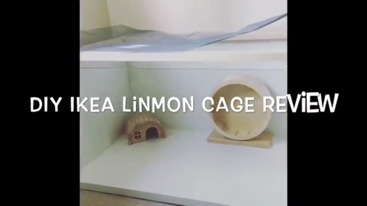 Ikea Tonne Diy Ikea Linnmon Hamster Cage Review As Seen In Vanillahamham S Videos