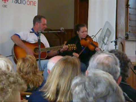 Rachel Davis in a Celtic Colours Concert in Baddeck