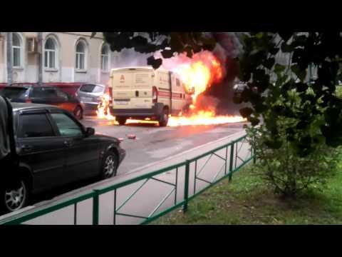 Ограбление инкассаторов в Москве: видео очевидцев