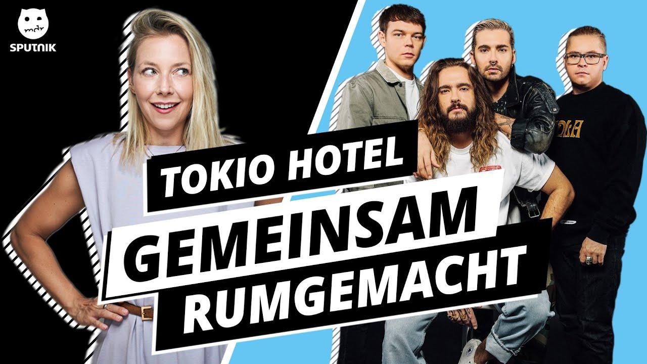 TOKIO HOTEL: Gemeinsam rumgemacht! - Illegale Fragen