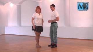 Сальса. Видео урок №9 от MostDance.com (Голинищенко, Вишняков)
