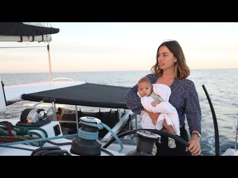 BOAT LIFE: Our First Overnight Sail, with a Baby!