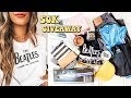 50K SUBSCRIBER GIVEAWAY ☆ MAKEUP, THRIFT ITEMS, CURLING WAND + more!