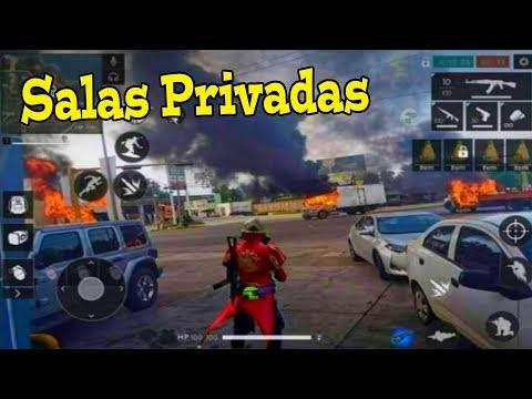 DIRECTO DE FREE FIRE   JUGANDO SALAS PRIVADAS! / MINIJUEGOS / SIMÓN DICE / TORNEO DE KILLS