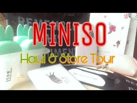 0330e24dca MINISO Haul   Store Tour💕
