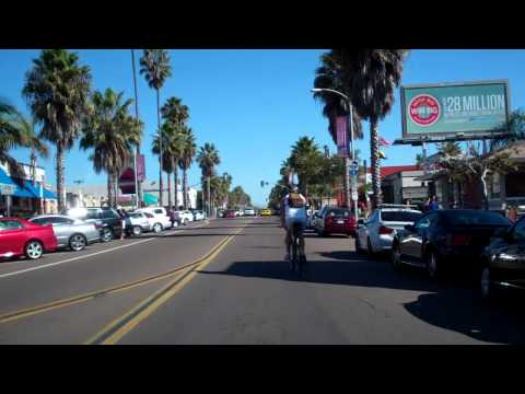 San Diego Street Tour Test (Garnet Ave in Pacific Beach)