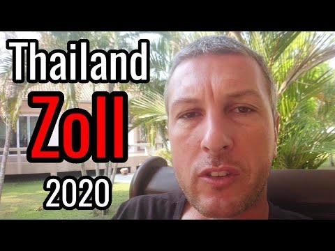Thailand Zoll 🛑 Zollbestimmungen Thailand 2020