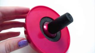 Ladybug Nail Polish Holder Demo