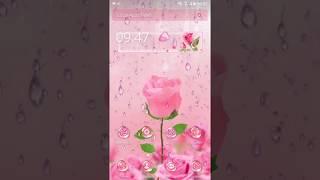 Magical 3D Pink Rose Theme screenshot 3