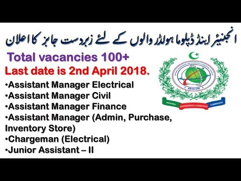 CareerJobs1737 Jobs 2018 Apply Online | NDC NESCOM Jobs 2018