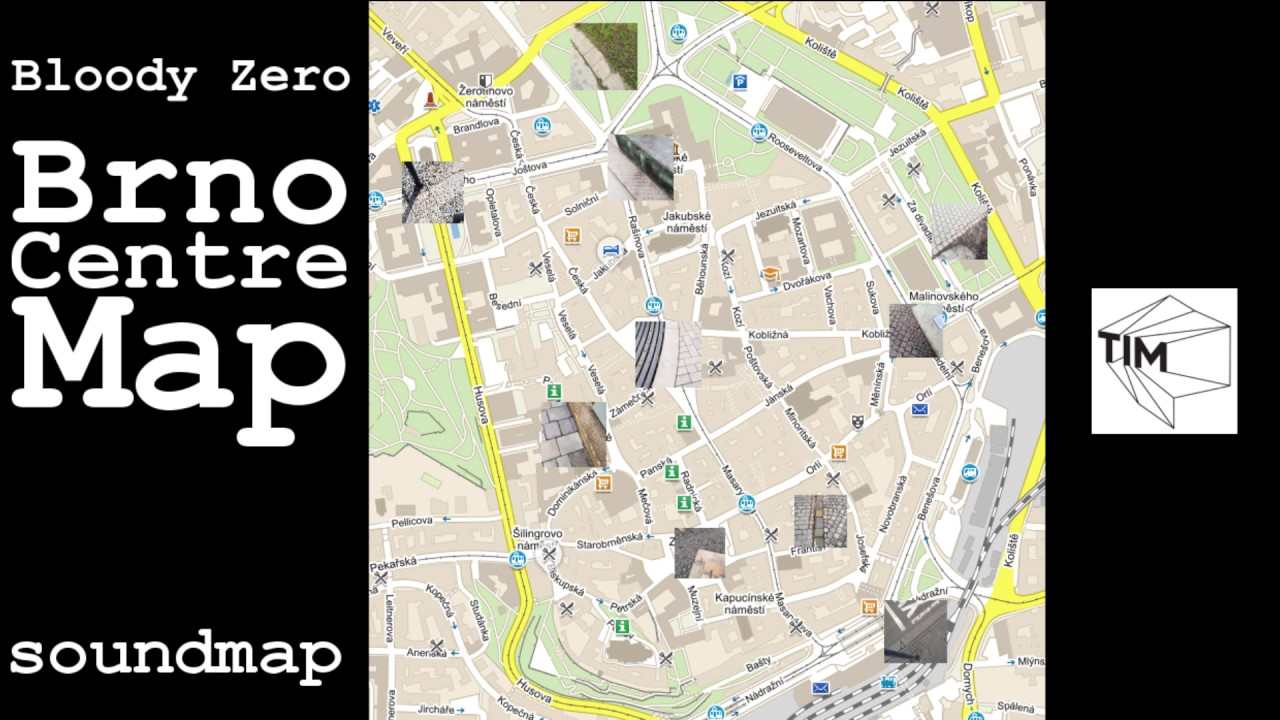 Brno Centre Map soundmap YouTube