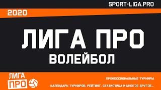 Волейбол Лига Про Группа А 11 января 2021г