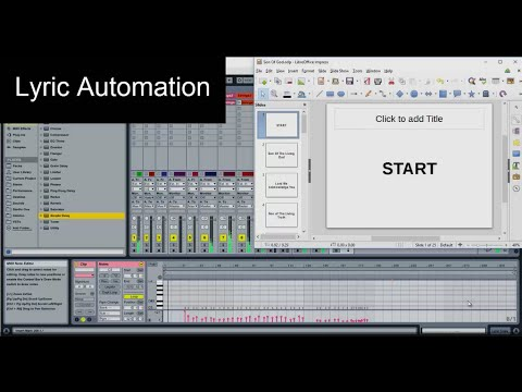 How To Sync Song Lyrics With Ableton Live