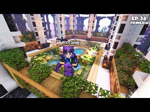 J'ai build ma SALLE DES COFFRES pendant 3 JOURS ! - Episode 36 Primeria S3 - Minecraft Survie