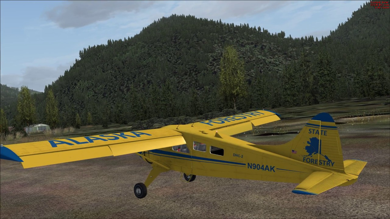 [FSX] Milviz DHC-2 Beaver - UPDATED FLIGHT DYNAMICS!