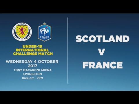 LIVE | Scotland U19s v France U19s