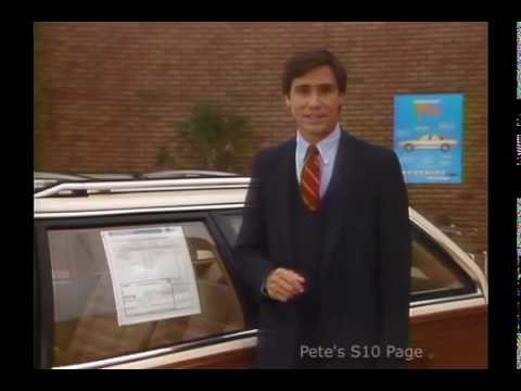 1985 Chevrolet Celebrity Wagon Sales Training