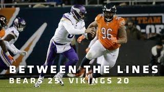 Between The Lines: Chicago Bears 25, Minnesota Vikings 20