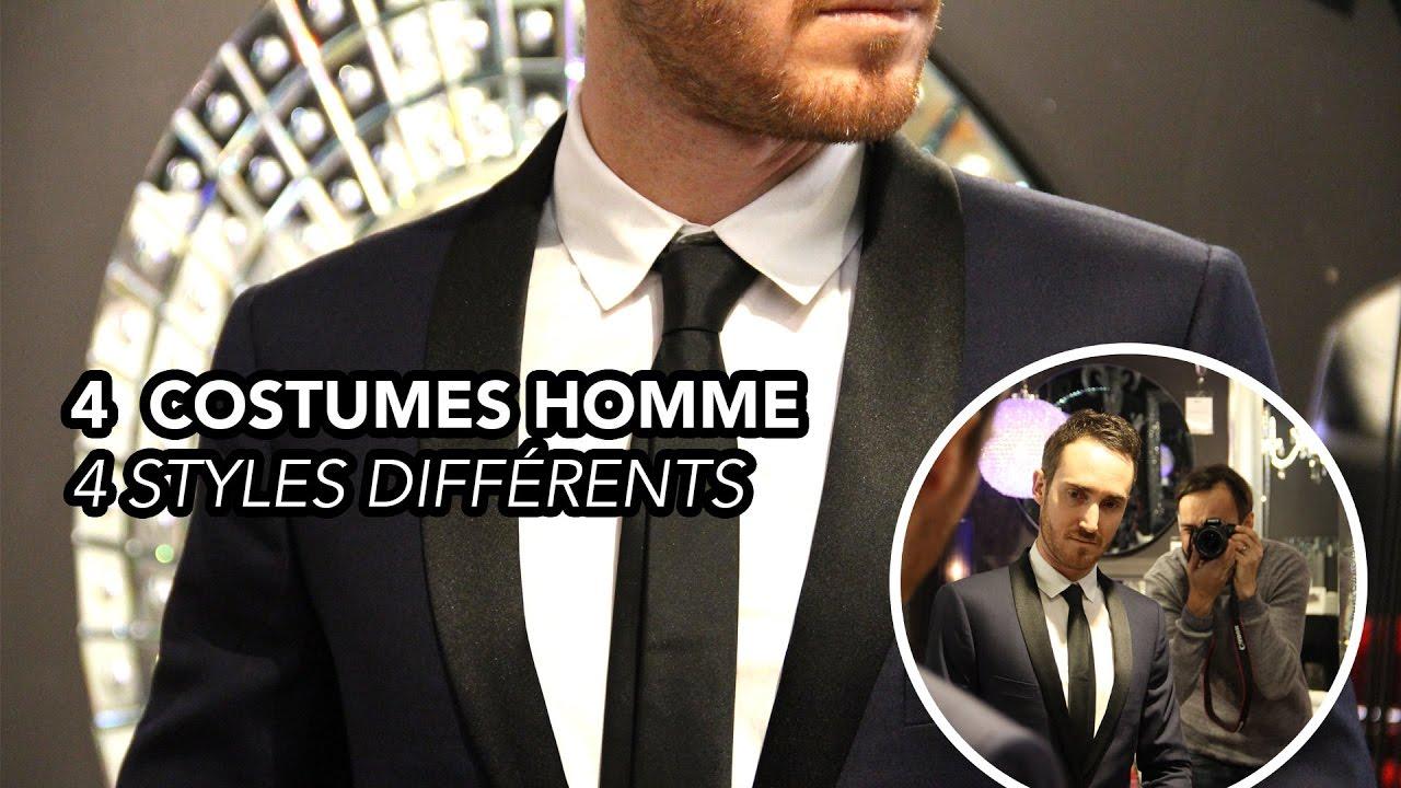 BACKSTAGE  1  Bien Choisir son Costume pour Homme   4 styles différents -  YouTube 518b366e2be