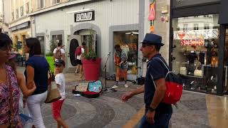 Amazing street musician! - COAST & OCEAN